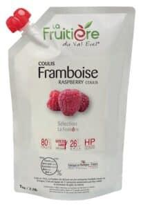 Coulis de Framboise réfrigéré 20% sucre de canne