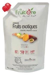 Coulis de Fruits Exotiques réfrigéré 18% sucre de canne