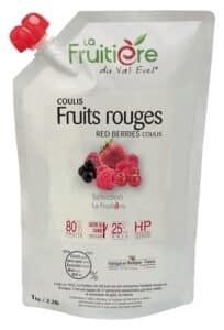 Coulis de Fruits rouges réfrigéré 20% sucre de canne
