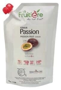 Coulis de Passion réfrigéré 25% sucre de canne