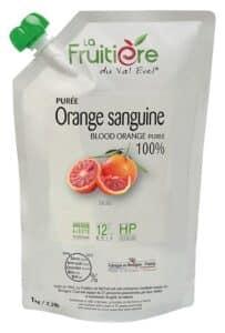 Purée d'Orange sanguine réfrigérée sans sucre ajouté