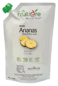 Purée d'Ananas réfrigérée 10% sucre de canne