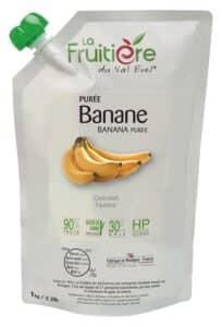 Purée de Banane réfrigérée 10% sucre de canne