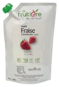 Purée de Fraise réfrigérée 10% sucre de canne