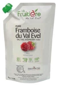 Purée de Framboise du Val Evel réfrigérée 7% sucre de canne