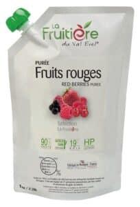 Purée de Fruits rouges réfrigérée 10% sucre de canne
