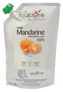 Purée de Mandarine réfrigérée sans sucre ajouté