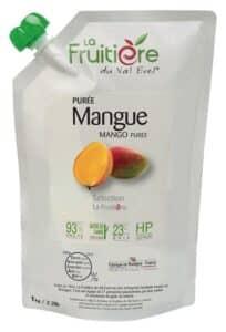Purée de mangue réfrigérée 7% sucre de canne