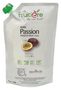 Purée de passion réfrigérée 10% sucre de canne
