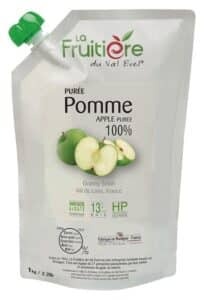 Purée de Pomme réfrigérée sans sucre ajouté
