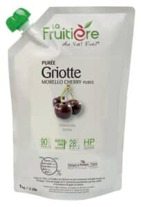 Purée de Griotte réfrigérée 10% sucre de canne